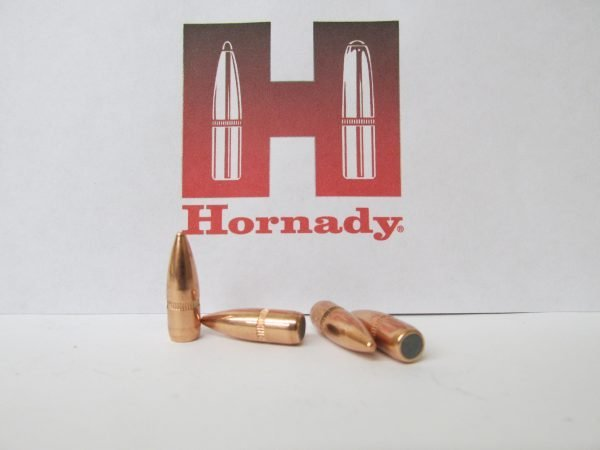 Hornady 22 Cal 55 gr FMJ BT Jacketed Rifle Bullet