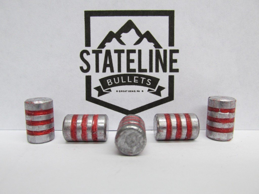 38 Cal 144 Gr Wc Type I Lead Cast Bullets For Reloading Stateline