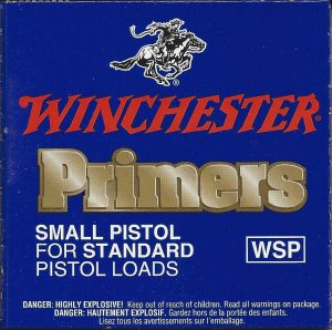 Winchester Primers Small Pistol