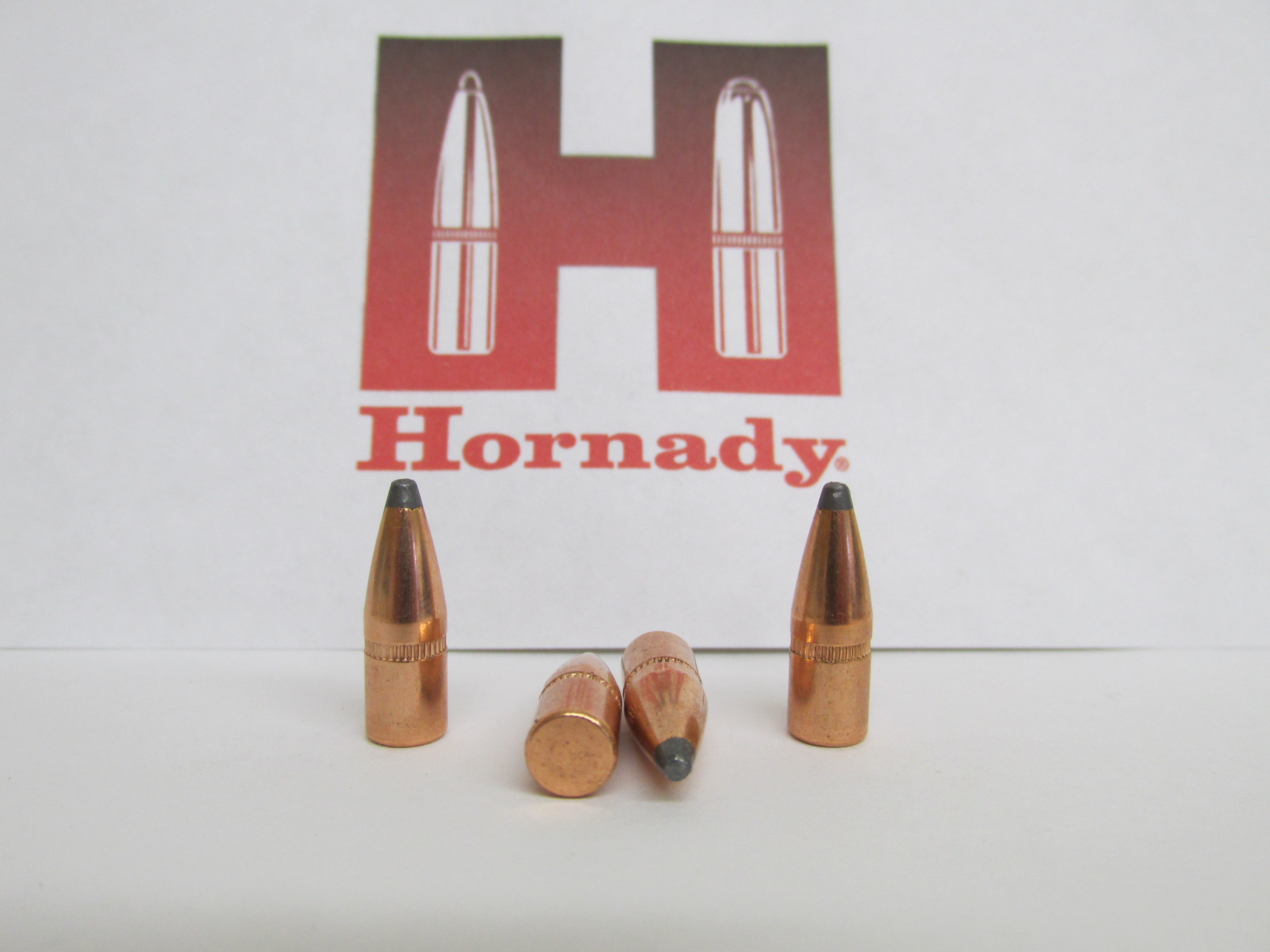 Hornady 22 Cal 55 gr. SP Jacketed Rifle Bullet