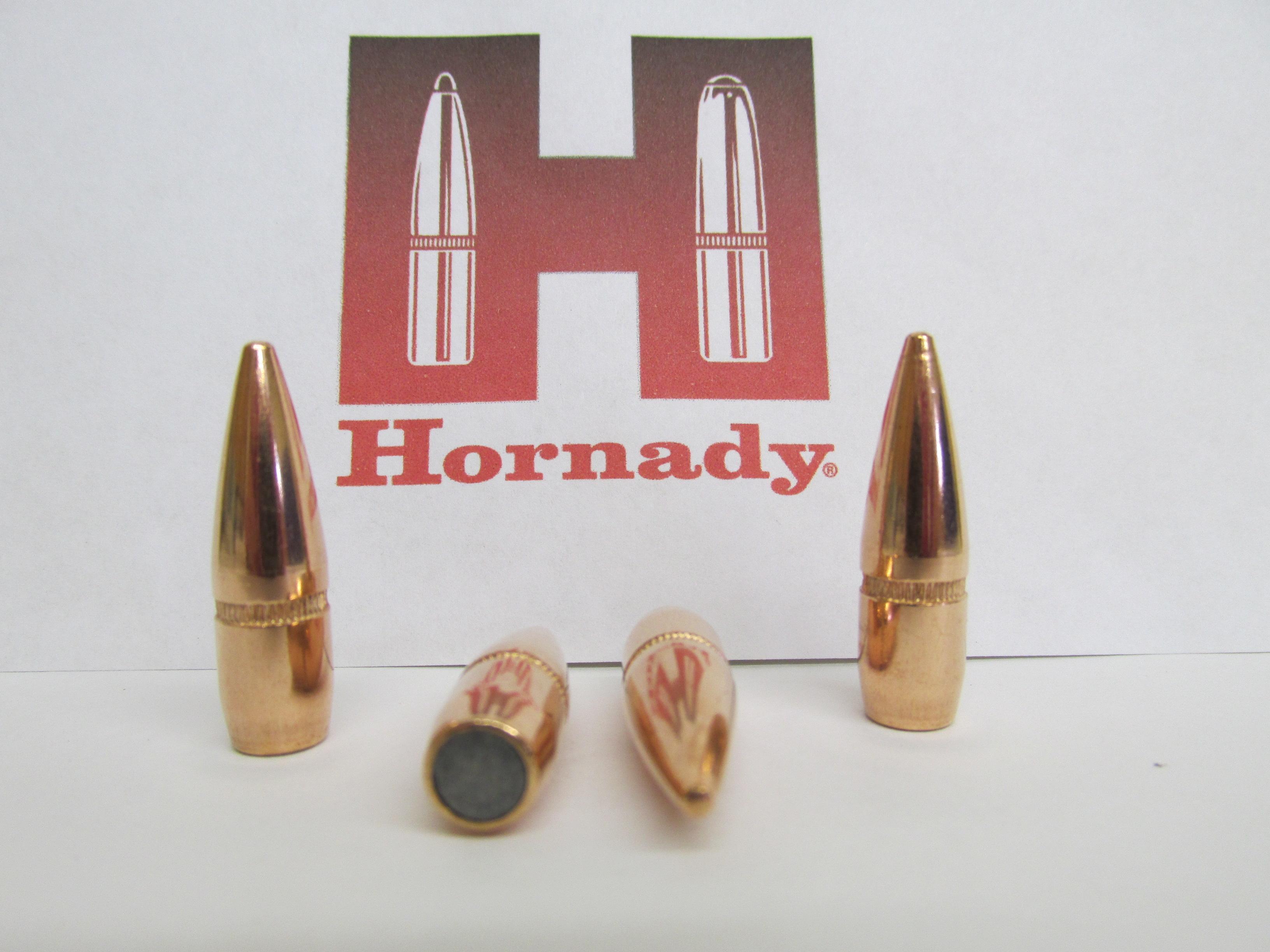Hornady 30 Cal 150 gr. FMJ BT Jacketed Rifle Bullet