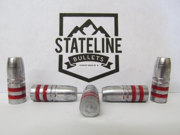 30 Cal 150 gr RN Flat Point Hard Lead Cast Bullets for Reloading.