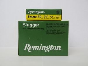 Remington slugger 20 ga