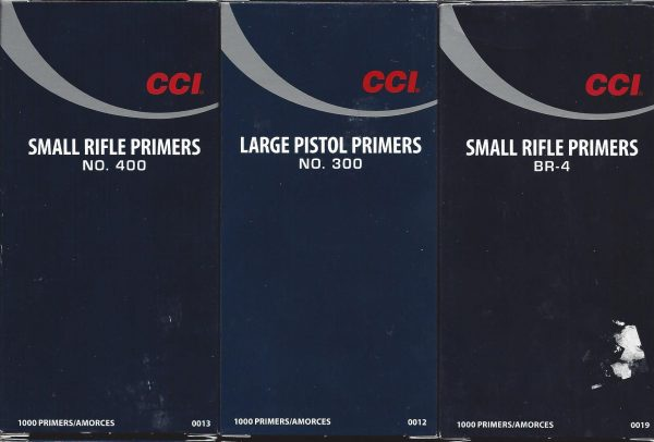 CCI Primers - Stateline Bullets