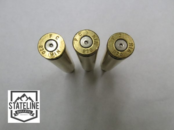 270 Once Fired Brass (Federal Headstamp)