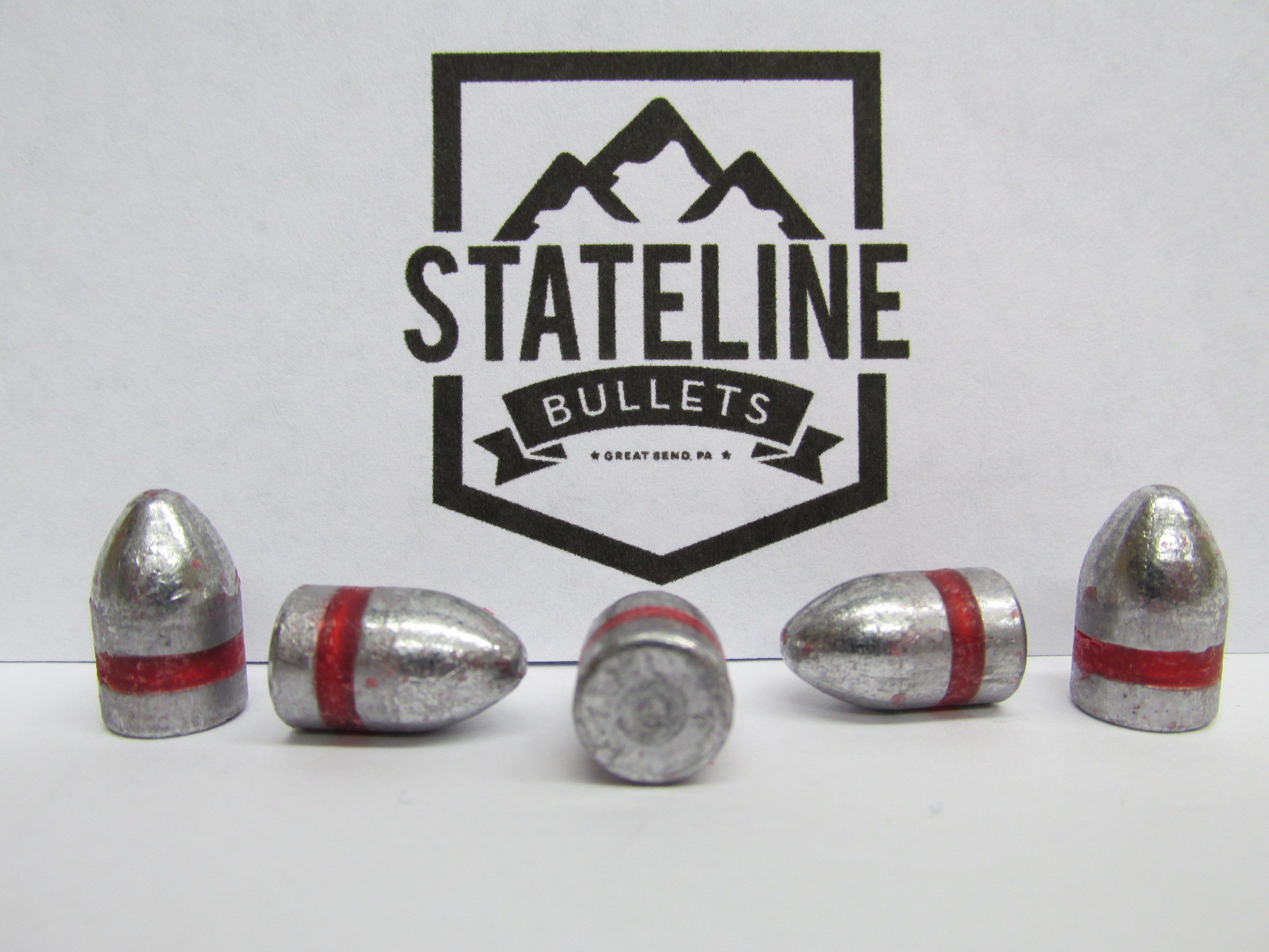 9mm 125 grain RN Cast Bullets