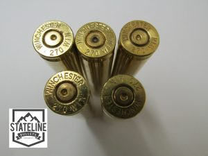 270 Once Fired Brass Wichester