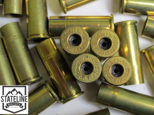 44-40 Winchester Brass.