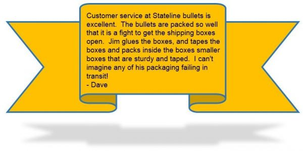 Shipping Testimonial graphic